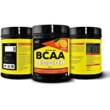 Healthvit Fitness BCAA 6000mg 2:1:1 with L-Glutamine & L-Citrulline Malate, 200g(Orange) (10 Servings) Tangy Orange