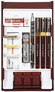 Rotring 699530 Rapidograph College Set with Pen Station