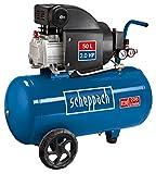 Scheppach Kompressor HC54 (1500 Watt, 50 L, 8 bar, Ansaugleistung 220L/min,...