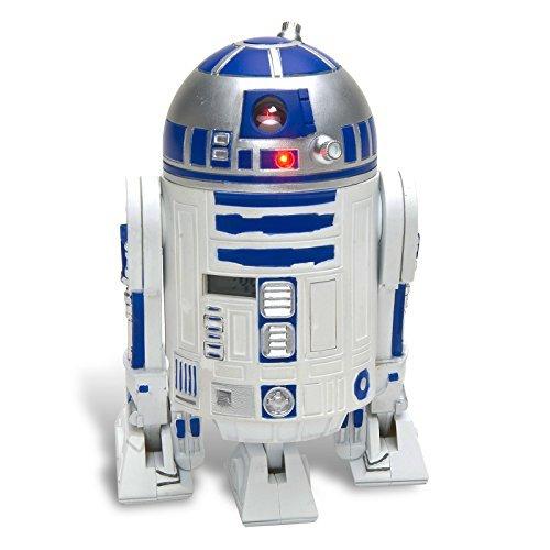 Star Wars Wecker R2-D2-3D-Wecker aus Kunststoff, mit R2-D2 Sounds.