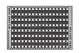 CarFashion 279659 PUR|GridClean – Fussmatte| Türmatte| Fußabtreter | Schmutzfangmatte | Sauberlaufmatte | Eingangsmatte| für Innen und Aussen | Anthrazit-Metallic Oberfläche | Scraper-Noppen mit robustem Textilbelag | Größe ca. 59 x 39 cm