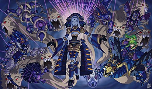 Yugioh El Shaddoll Winda Playmat 24 x 14 inch by Remove From Game