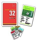 Fussballquartett / Fussball-Quartett - 32 Bälle zum Spielen