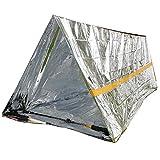 Ouken Tente d'urgence de Survie Tente Simple Tente Abri par Temps Froid extérieur...