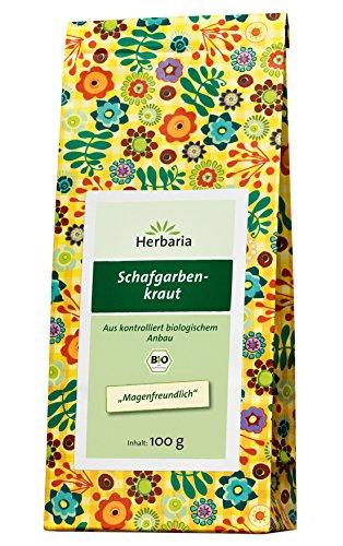 Herbaria Schafgarbenkraut , 1er Pack (1 x 100 g Tüte) - Bio