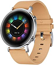 HUAWEI DAN-B19 Diana 42 mm Watch GT2 with AMOLED Display, Gravel Beige