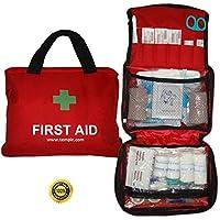 Erste-Hilfe-Set mit über 100 Teilen, für Reisen, Auto, zu Hause, Wohnwagen, Kampieren, Überleben und Arbeit. Beinhaltet... preisvergleich bei billige-tabletten.eu