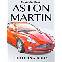Aston Martin Coloring Book