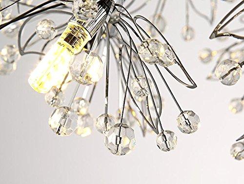 LED Kristall-Kronleuchter Schlafzimmer - 6