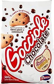 Pavesi Biscotti Frollini Gocciole Cioccolato, 500g