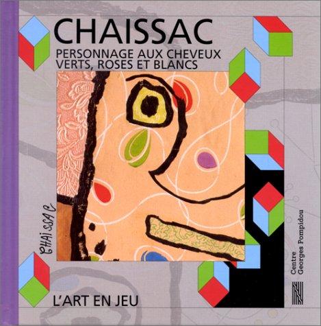 Gaston Chaissac : personnage aux cheveux verts, roses et blancs - L'art en jeu