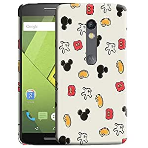 Theskinmantra Mickey Hand back cover for Moto X Play