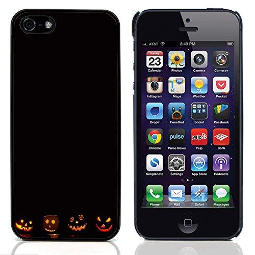 Graphic4You Halloween Allerheiligen Thema Kürbis Design Harte Hülle Case Tasche Schutzhülle für Apple iPhone 5 und - Iphone 5 Halloween-thema