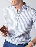 El Ganso 1050S190052 Camisa Casual, Azul (Celeste 0052), Large (Tamaño del Fabricante:L) para Hombre