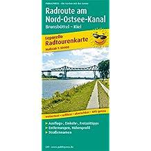 Radroute Nord-Ostsee-Kanal: Leporello Radtourenkarte mit Ausflugszielen, Einkehr- & Freizeittipps, wetterfest, reissfest, abwischbar, GPS-genau. 1:50000 (Leporello Radtourenkarte / LEP-RK)
