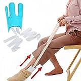 Sock Slider, Sock Aid - Lazy people indossare calze facile da indossare, easy off Sock Aid Hosiery aiuto assistenza dispositivo