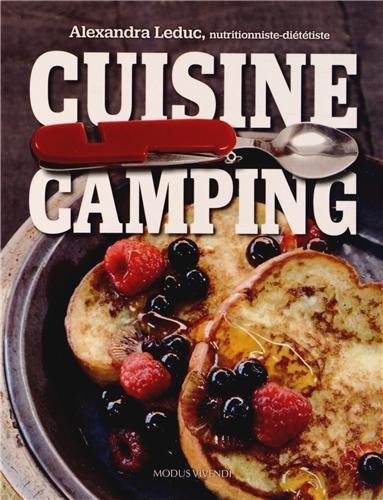 Cuisine camping par Alexandra Leduc