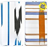 #10: Oscar Men's Cotton Fireplay Lungi - Pack Of 2 (Length - 2 Meter) (Design & Color - Assorted) (Soft & Comfortable Regular Wear)