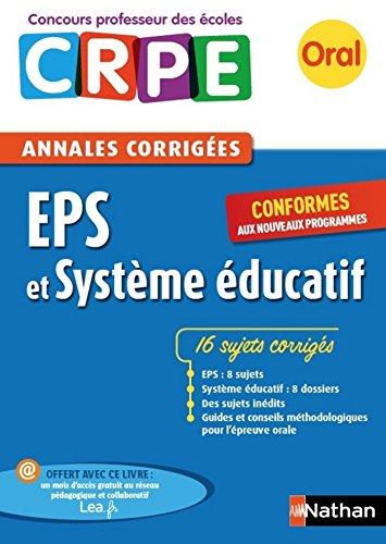 Ebook - Annales CRPE : EPS et Systme ducatif