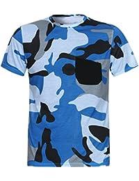 dce92216b Camisa de Manga Corta de Bolsillo de Camuflaje Casual de Verano 2018 para  Hombre Tops de