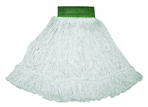 Wilen A05001, Bulldog Cotton/Synthetic Blend Looped End Wet Mop, Small,