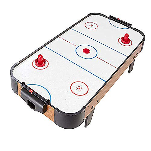 Mitrc Table Top Air Hockey, 40-Inch Air Powered Hockey Table Time Toys Home Office Decor Board Games Desk Tabletop Toy