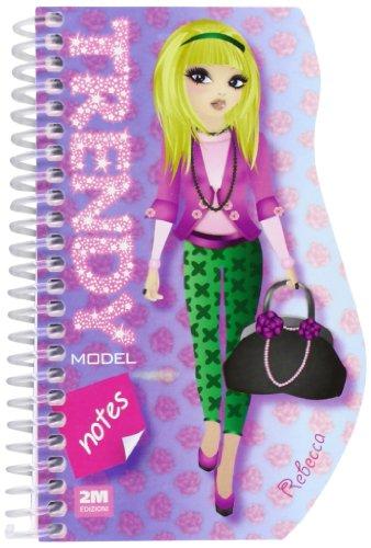 Trendy model notes. Rebecca. Ediz. illustrata. Con gadget