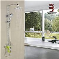 BL Rame placcato ascensore colore doccia set doccia rubinetti vernice