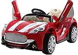 Una fantastica GT Sport Car con divertenti caratteristiche! Sportelli Apribili - Due sportelli apribili scissor. Telecomando Parentale - L'auto può essere usuata con i comandi interni, usando il pedale, la marcia in avanti/indietro e con il v...