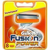 Gillette Fusion Power Rasierklingen, 8 Stück, briefkastenfähige Verpackung