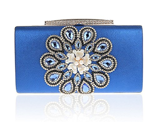 diamante/Fiore sera bag/ moda donna pochette-D D