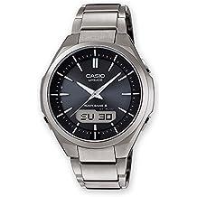 Casio Reloj Analogico-Digital para Hombre de Cuarzo con Correa en Titanio LCW-M500TD