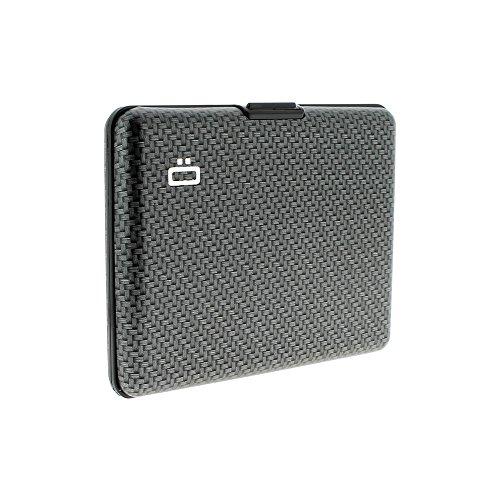 Ögon BS-Carbon Portefeuille Big Stockholm wallet Aluminium anodisé Carbo