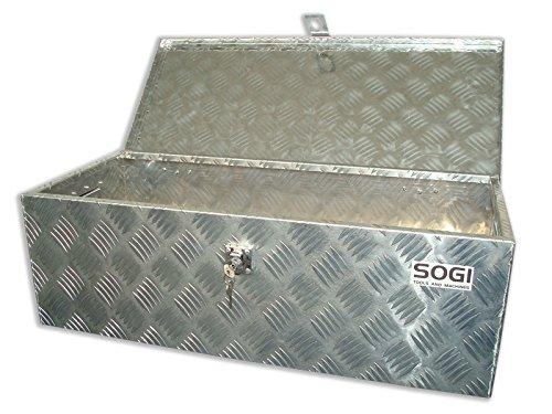 Truhe Werkzeugkoffer Werkzeugtasche Wanne Sogi in Aluminium Koffer ble-77 -