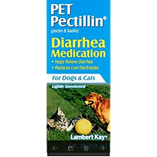 Lambert Kay Pet Pectillin Diarrhea Medication for Dogs and Cats, 4-Ounce 2