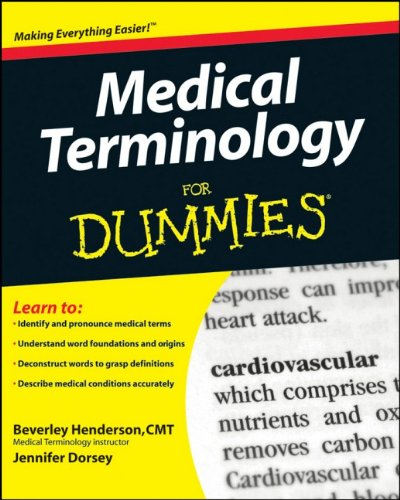 FREE-DOWNLOAD Medical Terminology For Dummies PDF Ebook - by