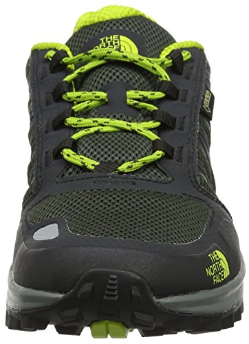 The North Face Herren Litewave Fastpack Gore-Tex Trekking-& Wanderhalbschuhe Grün (Green Climbing Ivy Green/lime Green)