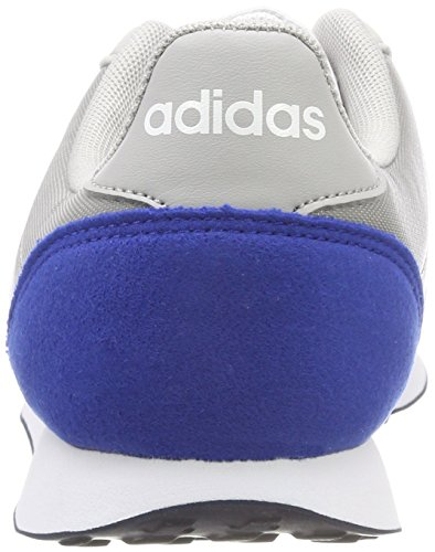 adidas Herren V Racer 2.0 Gymnastikschuhe Grau (Grey Two F17/ftwr White/collegiate Royal)