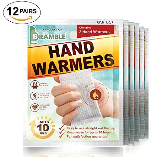 Lot de 12Définit-Premium Chaufferettes, chauffe-orteils ou le corps chimiques pour assurer un maximum de chaleur et de confort en hiver (veuillez choisir ci-dessous)