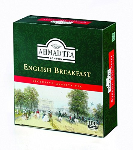 Ahmad Tea London English Breakfast 100 Teebeutel Schwarztee Teabags black tee