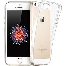 ESR Case - Funda para el iPhone 5S/5, Serie Ultra Slim superdelgada (0.5 mm) - Modelo Transparente