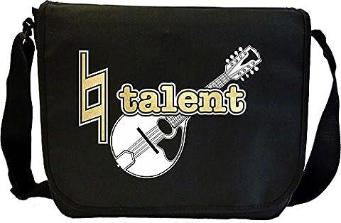 Mandolin Natural Talent - Sheet Music Document Bag Sacoche de Musique MusicaliTee