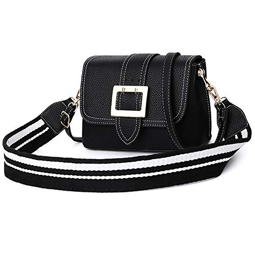 KKGG Boutique Brand Young Lady Purse Young Girl Satchel for Carry Mobile Phones, Cosmetics and Other Women ' S Products-Black -