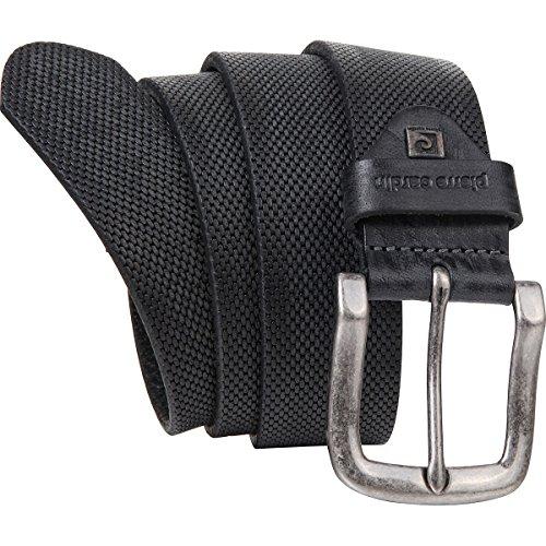 Pierre Cardin Mens leather belt/Mens belt, black, Größe/Size:105;Farbe/Color:black