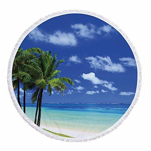 Singh Mandala Runde Tapisserie Strandtuch Tischdecke Badetuch Yogamatte Sonnenschutz Schal Picknickdecke Schal Wandbehang 59 Zoll Marine Modelle