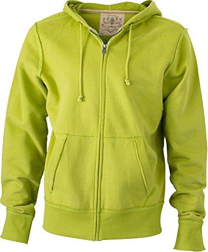 Men' s Vintage Hooded im digatex di Package verde lime