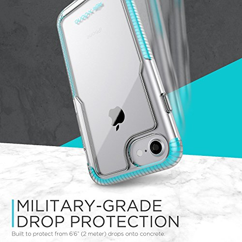 iPhone 7 Case , X-Doria Case (Impact Pro) pour iPhone 7 , Effacer Vu, Double Impact Absorption, caoutchouteux TPU & Poly-One Matériel, Premium de protection iPhone 7 Case(Rose) Rose