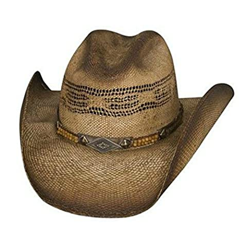 Bullhide Brown Cowboy Hat - Full Speed - Natural Straw