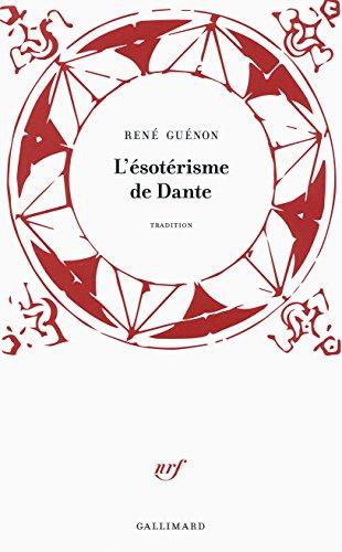 L'ésotérisme de Dante par René Guénon