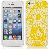 JAMMYLIZARD | Fluoreszierende Schutzhülle für [ iPhone 5 / 5s und iPhone SE ], Zitronensorbet / Gelb